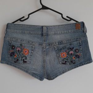 Guess Low Rise Jean Shorts